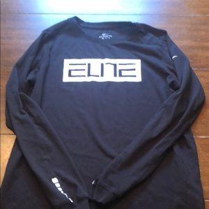 Nike Elite Long Sleeved Tee Youth XL